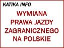 Kiedy można wymienić prawo jazdy na polskie?